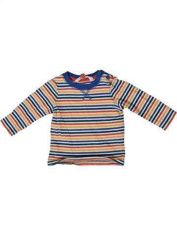 Camiseta de manga larga niño JOHN LEWIS rosa 3 meses invierno #1415829_1