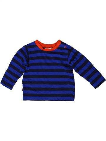 Camiseta de manga larga niño DEBENHAMS azul 6 meses invierno #1416130_1