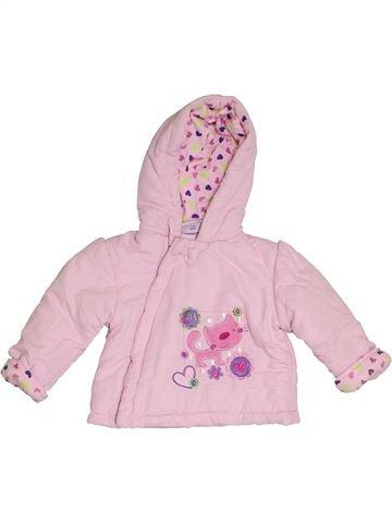 Manteau fille ROCK A BYE BABY rose 6 mois hiver #1416147_1
