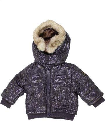 Manteau garçon BRUMS gris 6 mois hiver #1416415_1