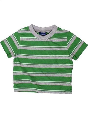 T-shirt manches courtes garçon CHEROKEE vert 9 mois été #1417174_1