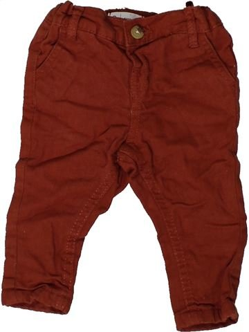 Pantalón niño LA REDOUTE CRÉATION rojo 6 meses invierno #1417379_1