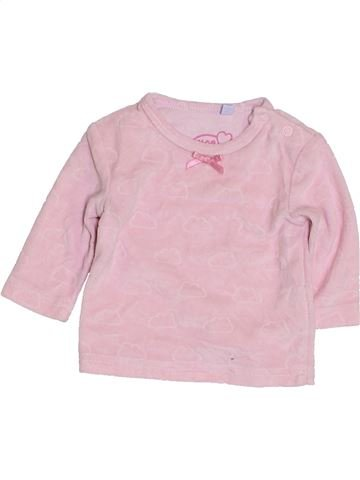 Pull fille MON COEUR rose 1 mois hiver #1417613_1