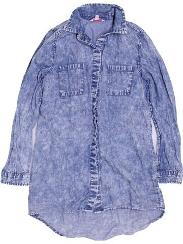 Blouse manches longues fille MISS E-VIE bleu 9 ans hiver #1417629_1