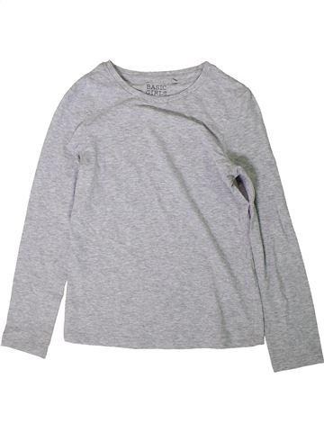 Camiseta de manga larga niña C&A gris 10 años invierno #1417644_1