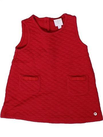 Robe fille JASPER CONRAN rouge 6 mois hiver #1417832_1