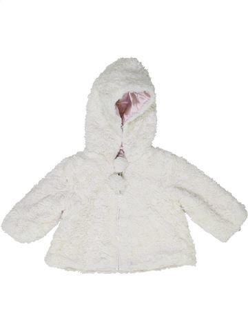 Veste fille JASPER CONRAN blanc 6 mois hiver #1418076_1