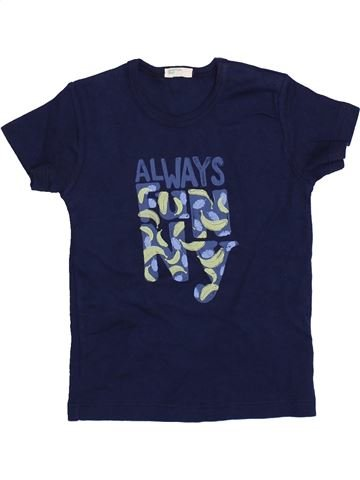 Camiseta de manga corta niña BENETTON azul 12 meses verano #1418160_1