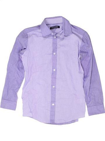 Chemise manches longues garçon FLIPBACK gris 10 ans hiver #1418437_1