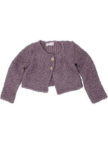 Chaleco niña CLAYEUX violeta 2 años invierno #1418646_1