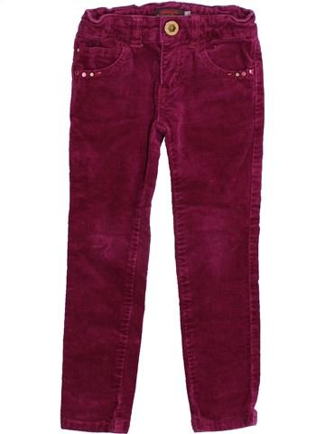 Pantalon fille CATIMINI violet 3 ans hiver #1418767_1