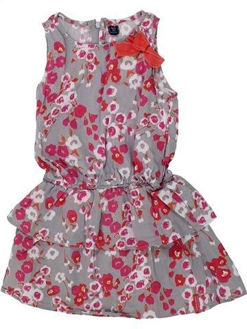 Vestido niña TERRE DE MARINS violeta 5 años verano #1418803_1