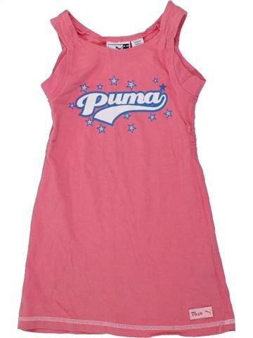 Robe fille PUMA rose 4 ans été #1418901_1