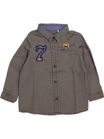 Camisa de manga larga niño IKKS marrón 2 años invierno #1418930_1
