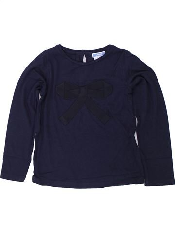 Camiseta de manga larga niña JACADI azul 6 años invierno #1419073_1