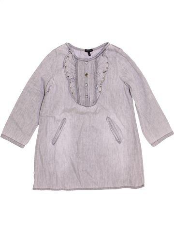 Vestido niña IKKS gris 6 años invierno #1419125_1