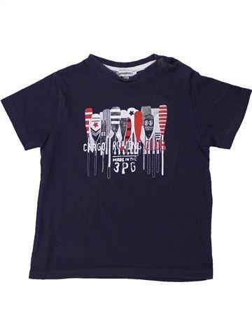 Camiseta de manga corta niño 3 POMMES azul 3 años verano #1419367_1