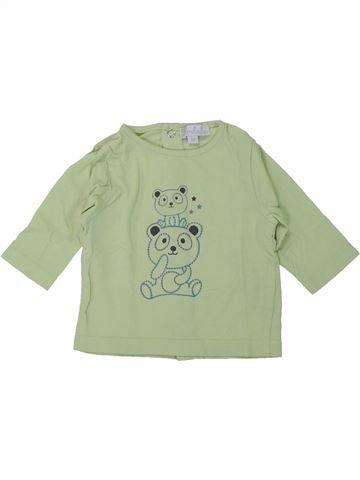 Camiseta de manga larga niño KIMBALOO verde 3 meses invierno #1419491_1