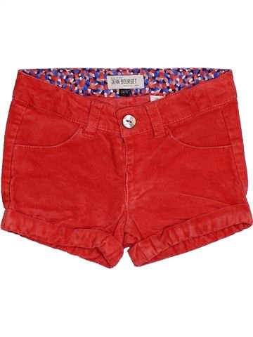 Short - Bermuda fille JEAN BOURGET rouge 3 ans hiver #1419506_1