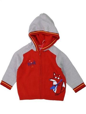 Chaleco niño DPAM rojo 12 meses invierno #1419694_1