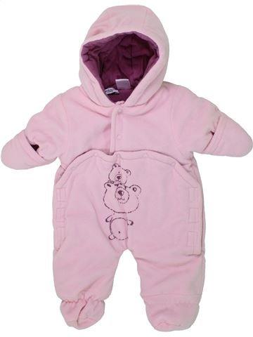Mono-polar niña LA REDOUTE CRÉATION rosa 0 meses invierno #1419714_1