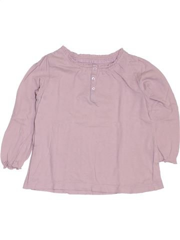 T-shirt manches longues fille BOUT'CHOU rose 2 ans hiver #1419810_1