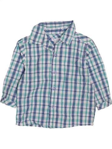 Camisa de manga larga niño KIMBALOO azul 12 meses invierno #1419949_1
