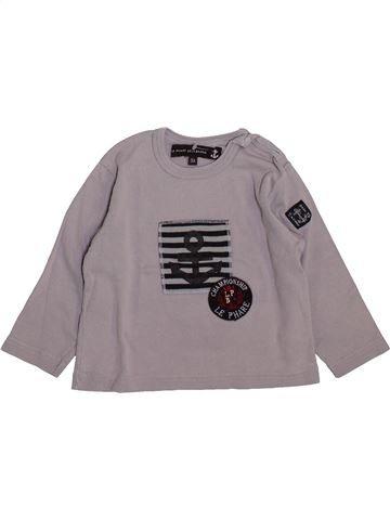 T-shirt manches longues garçon LE PHARE DE LA BALEINE gris 3 ans hiver #1419954_1