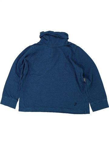 Camiseta de cuello alto niña JACADI azul 2 años invierno #1420045_1