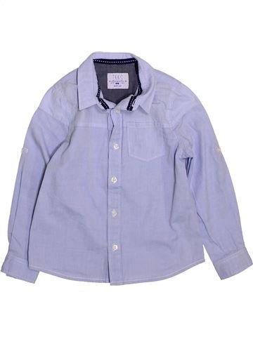 Camisa de manga larga niño IKKS gris 4 años invierno #1420047_1