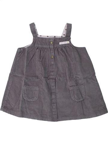 Vestido niña PREMAMAN gris 12 meses invierno #1420055_1