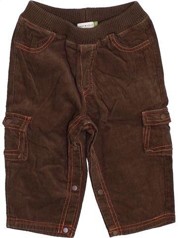 Pantalon garçon CANADA HOUSE marron 6 mois hiver #1420130_1