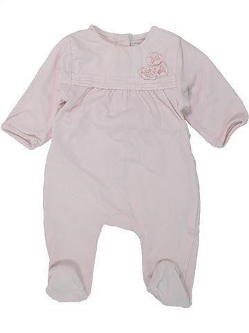 Pijama de 1 pieza niña DPAM blanco 1 mes invierno #1420284_1