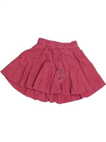 Jupe fille CAPTAIN TORTUE rose 3 ans hiver #1420325_1