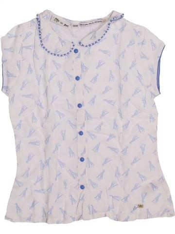 Blusa de manga corta niña JBC blanco 10 años verano #1420357_1
