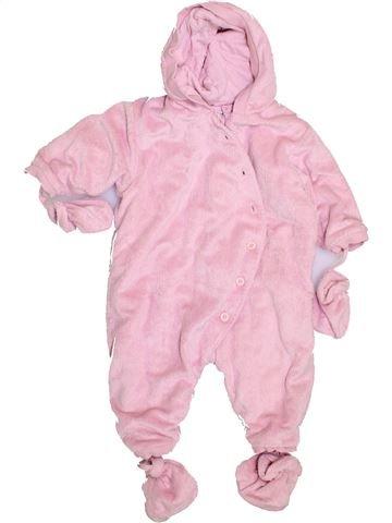 Mono-polar niña LA REDOUTE CRÉATION rosa 9 meses invierno #1420378_1