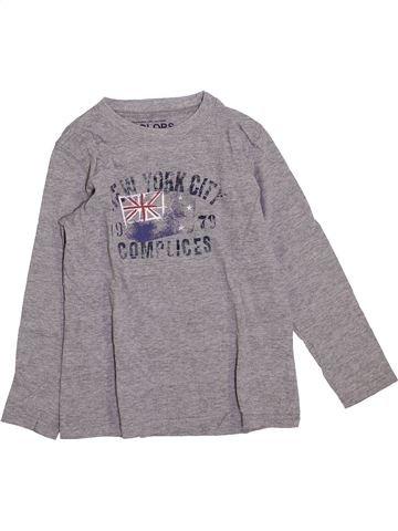 T-shirt manches longues garçon COMPLICES gris 6 ans hiver #1420550_1