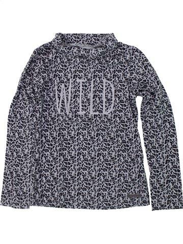 T-shirt col roulé fille LA COMPAGNIE DES PETITS bleu 6 ans hiver #1420652_1