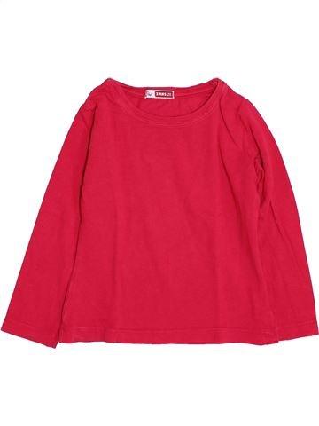 Camiseta de manga larga niña DPAM rojo 3 años invierno #1420718_1