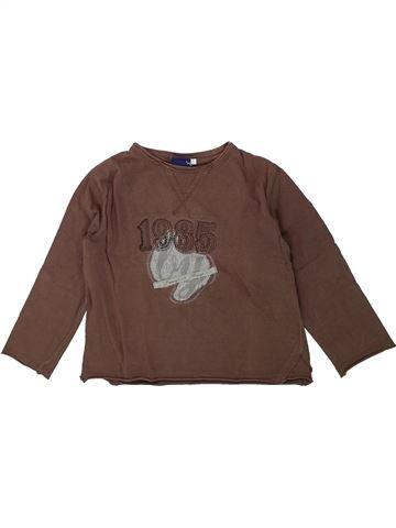T-shirt manches longues garçon SERGENT MAJOR marron 5 ans hiver #1420856_1