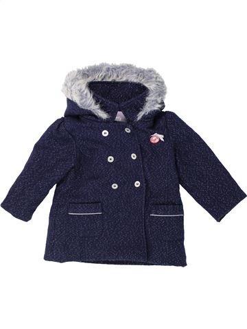Manteau fille LULU CASTAGNETTE bleu 18 mois hiver #1420864_1