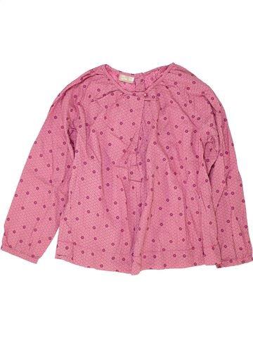Blusa de manga larga niña DPAM rosa 10 años invierno #1421033_1