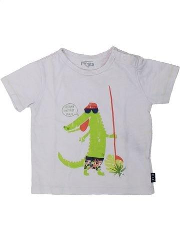 T-shirt manches courtes garçon LA COMPAGNIE DES PETITS blanc 18 mois été #1421145_1