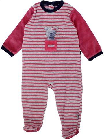 Pijama de 1 pieza niña ABSORBA violeta 9 meses invierno #1421356_1
