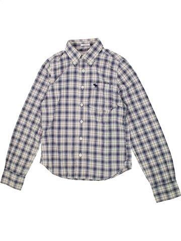 Chemise manches longues garçon IKKS gris 14 ans hiver #1421405_1