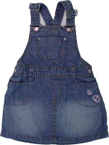 Vestido niña H&M azul 9 meses invierno #1421455_1
