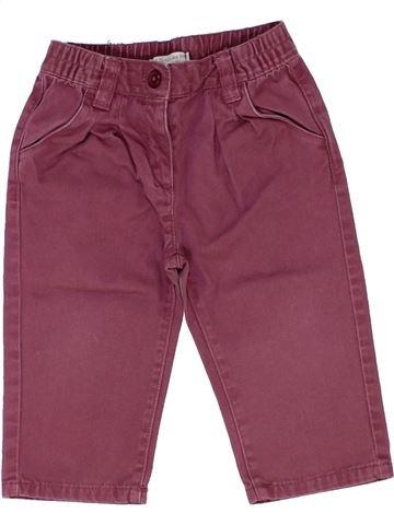 Pantalon fille GRAIN DE BLÉ violet 12 mois hiver #1421461_1