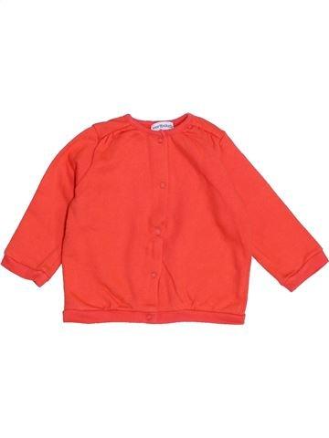 Sudadera niña VERTBAUDET naranja 6 meses invierno #1421506_1
