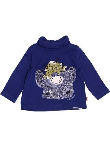 Camiseta de cuello alto niño DPAM azul 3 meses invierno #1421510_1