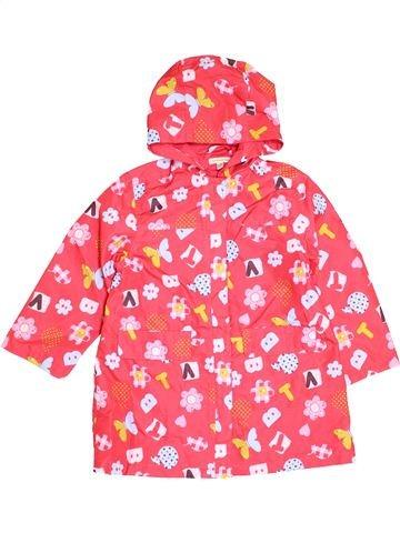 Anorak-Trinchera niña VERTBAUDET rosa 6 años verano #1421562_1